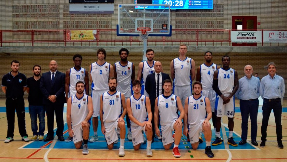 Primer equip sénior masculí del Club Bàsquet Prat (FOTO: CB Prat)