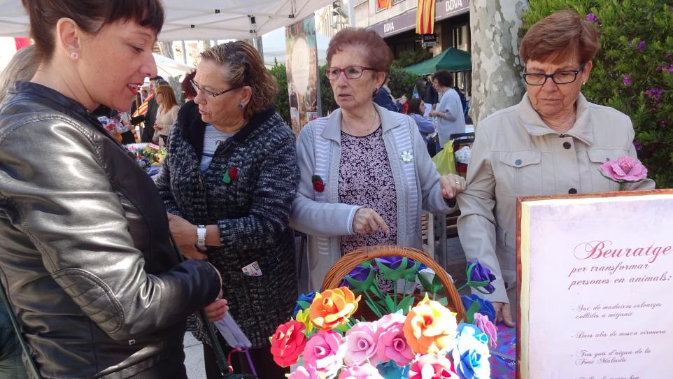 Sant Jordi amb les dones sàvies