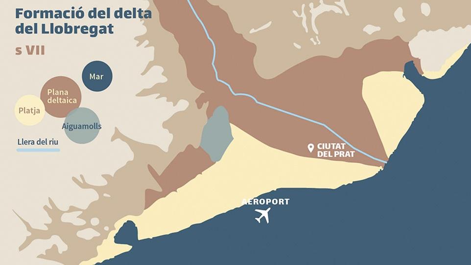 Formació i evolució del Delta