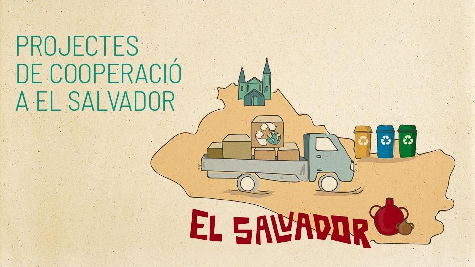 Imatge de la campanya de projectes de cooperació al Salvador 2018 2019
