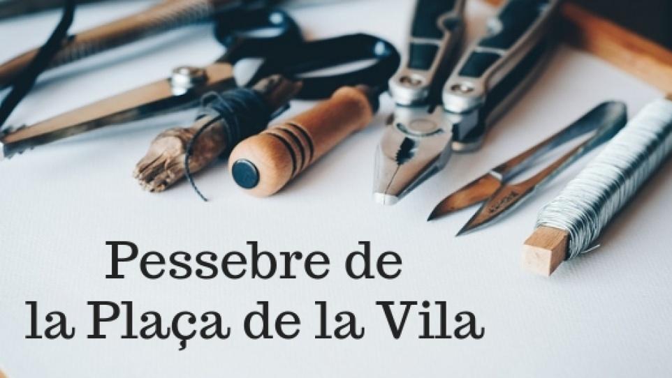 Imatge gràfica del Pessebre de la pl. de la Vila, 2018
