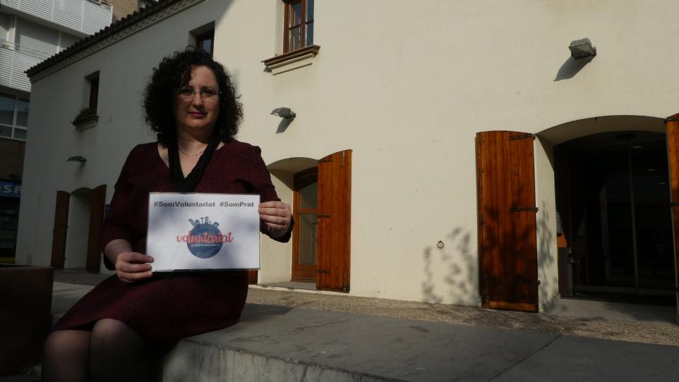 Susana Arranz Marín participant del projecte El voluntariat del Prat en primera persona, 2017
