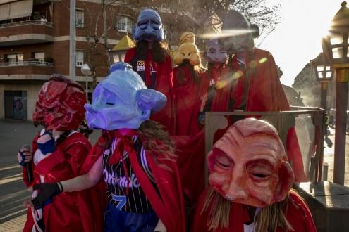 pecats infantils carnaval