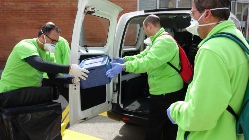 Voluntariat front a l'emergència del coronavirus