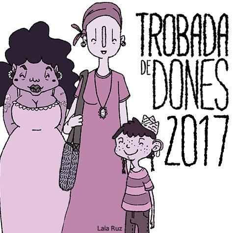 Imatge gràfica de la Trobada de Dones 2017