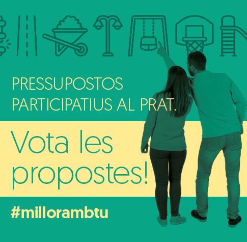 Imatge gràfica dels Presupostos Participatius - fase de votació 2017