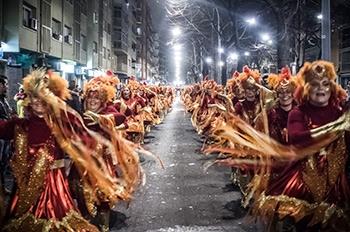 Carnaval del Prat - Les rues