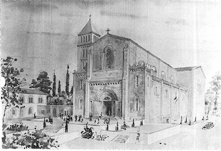 El projecte d'un temple no executat