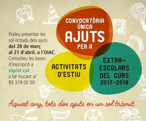 Ajuts activitats d'estiu i extraescolars
