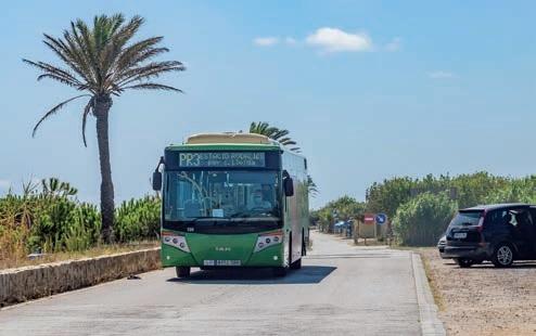 Autobús PR3 platja