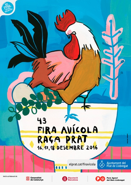 Cartell de la Fira Avícola 2016