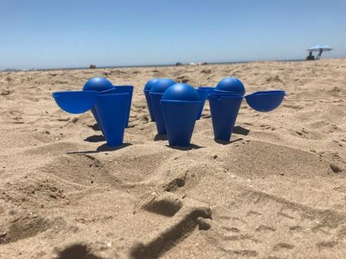 Cendrer platja
