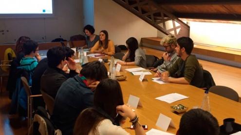 Reunió del Consell Municipal de Joventut.