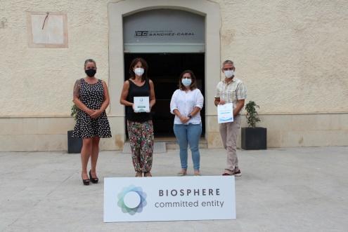 Entrega del segell Biosphere