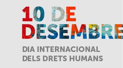 Imatge gràfica del Dia Internacional dels Drets Humans
