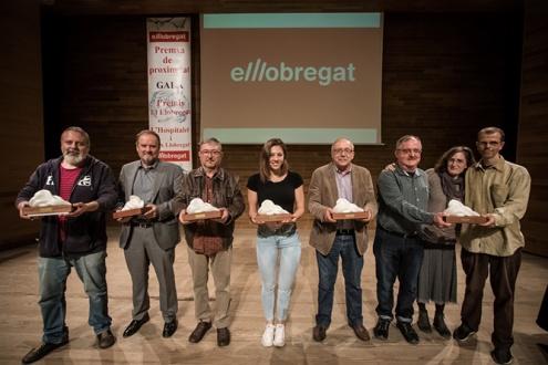 """Persones premiades """"El Llobregat""""."""