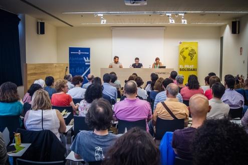 Fotografia acte del Prat Solidari 2016