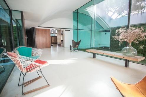 L'interior de la Casa Gomis