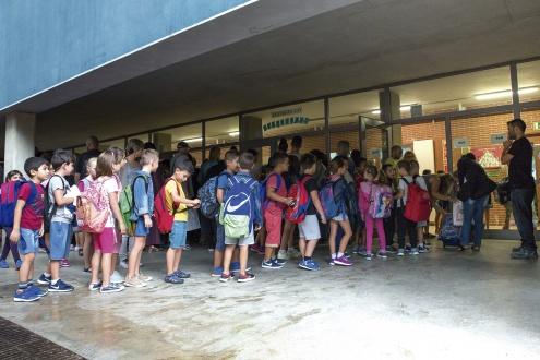 Inici de curs 2017 - 2018 a l'Escola Sant Jaume