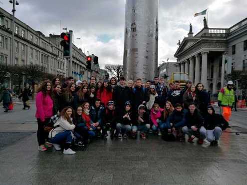 Alumnes del Prat a Irlanda.