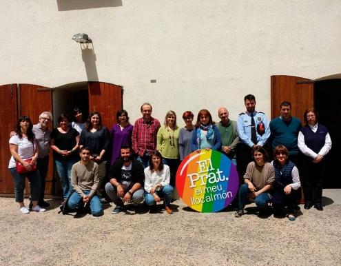 Persones participants a la formació del 8 de maig.