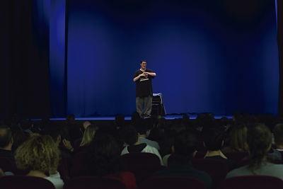 """Imatge de l'espectacle """"No sólo duelen los golpes"""", 2017"""