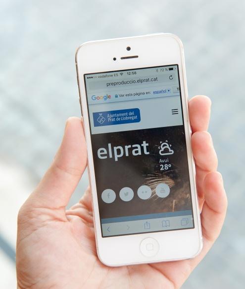 Nou web www.elprat.cat