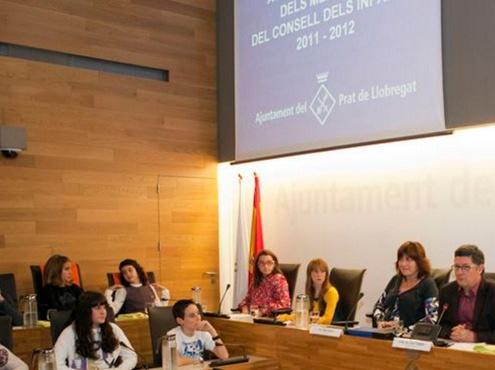 Acte de Renovació del Consell dels Infants 2011