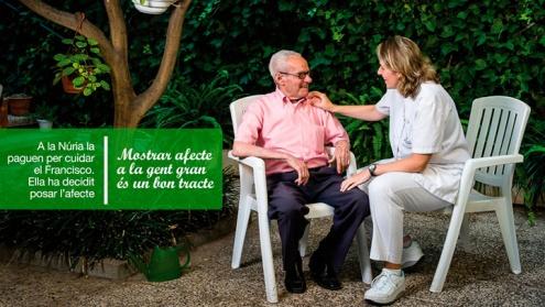 """Imatge de la campanya municipal """"Tracta'm bé""""."""