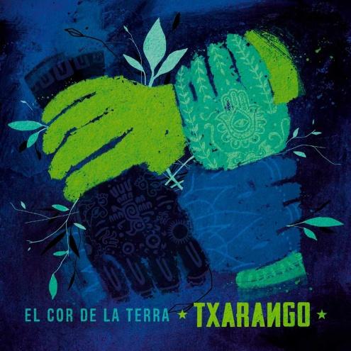 """Portada del disc """"El cor de la Terra"""", de Txarango."""