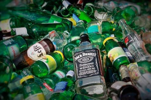 Reciclatge de vidre.