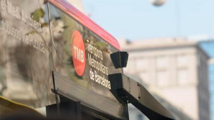 Un autobús de TMB