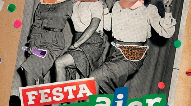 Cartell de la Festa Major del Prat 2019 (autor: Gabri Guerrero)