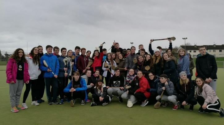 Imatge de la visita d'estudiants del Prat a Fingal.