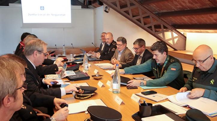 Reunió de la Junta Local de Seguretat del Prat.