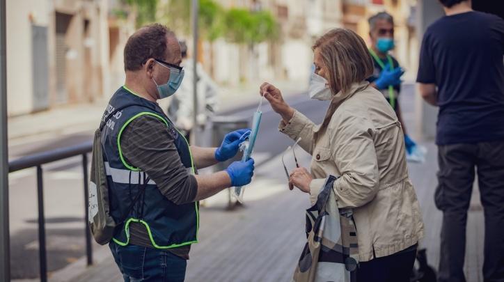 El Prat mascaretes coronavirus Ajuntament
