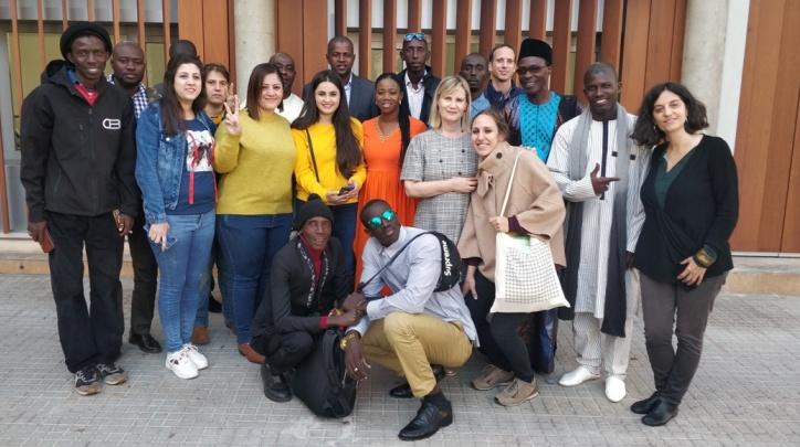 Visita delegació de Gàmbia i Síria