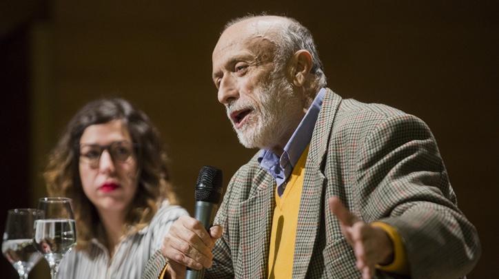 Carlo Petrini al Prat