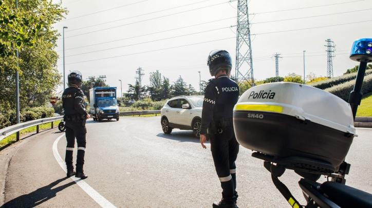 Control policia (arxiu)
