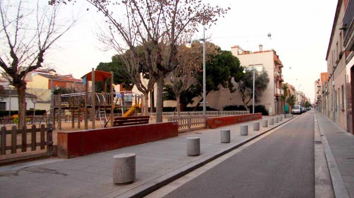 Tram del carrer de Sant Joaquim quequedarà afectat.