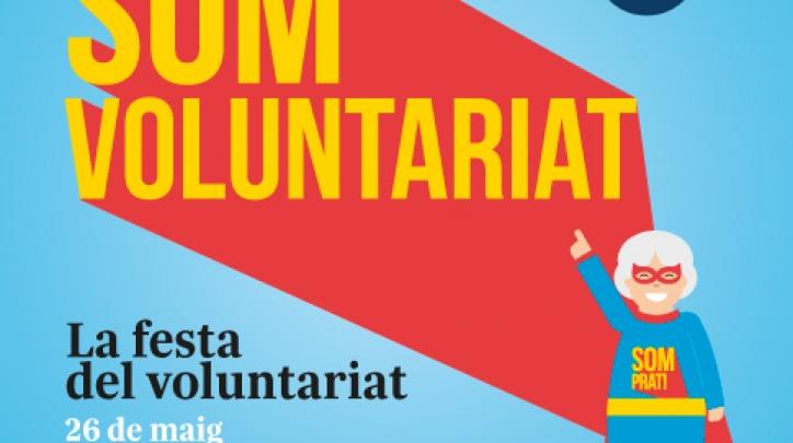 Imatge gràfica de la Festa del Voluntariat, 2017
