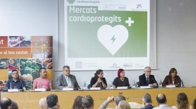Els mercats del Prat (Mercat Municipal, Plaça Blanes i Remolar) estaran cardioprotegits amb la instal·lació de desfibril·ladors