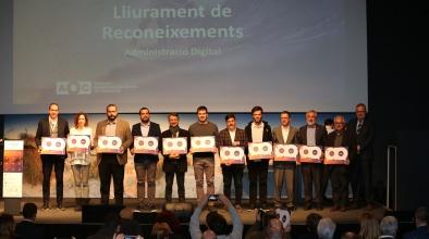 L'Ajuntament del Prat premiat per l'AOC (Administració Oberta de Catalunya) per la seva tasca en la implantació de l'administració digital