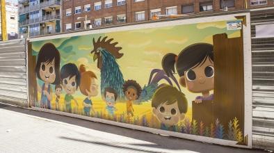"""""""Expo ArtVinguda"""" transforma el paisatge visual d'una avinguda en obres"""