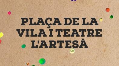 Plaça de la Vila i Teatre L'Artesà