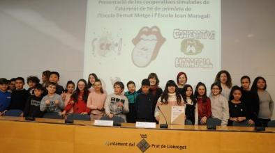 Presentació de les cooperatives escolars Joan Maragall i Bernat Metge (curs 2018-2019)