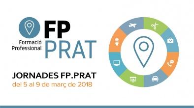 Imatge gràfica Jornades FP.Prat, 2018