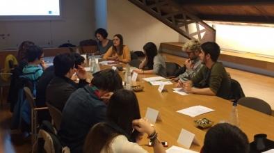 Imatge d'una sessió del Consell Municipal de la Joventut