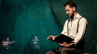 """Imatge de l'obra """"Federico García"""", interpretada al Teatre L'Artesà el 27 d'abril de 2019"""