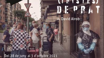 Cartell expo Hores (tristes) de Prat de David Airob